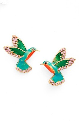 Women's Kate Spade New York Hummingbird Stud Earrings $58 thestylecure.com