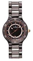 Charmex San Remo 6317 35 mmセラミックケースブラックセラミック合成サファイアWomen 's Watch
