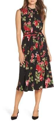 Leota Mindy Tie Front Dress