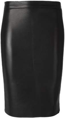 DSQUARED2 leather pencil skirt