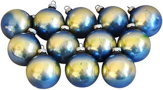One Kings Lane Vintage Vintage Christmas Ornaments w/Box - Set of 12