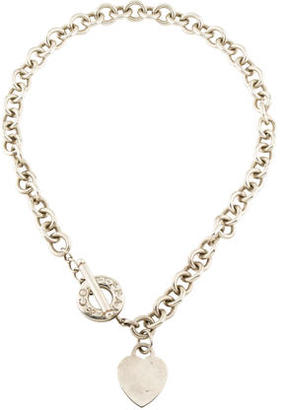 Tiffany & Co. Heart Tag Toggle Necklace $225 thestylecure.com
