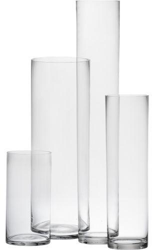 Cylinder vases $6.95 - $49.95