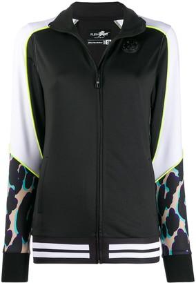 Plein Sport panelled track jacket