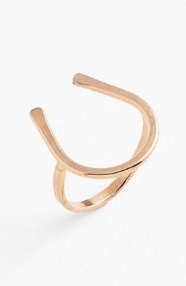 Women's Ija Horseshoe Ring $43 thestylecure.com