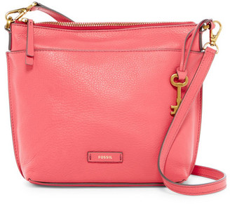 Fossil Julia Leather Crossbody $188 thestylecure.com