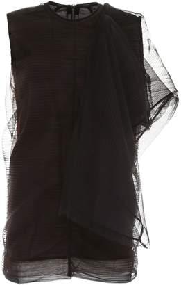 Rick Owens Tulle Tunic Dress