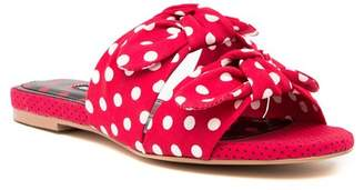 Charles David Souffle Polka Dot Sandals