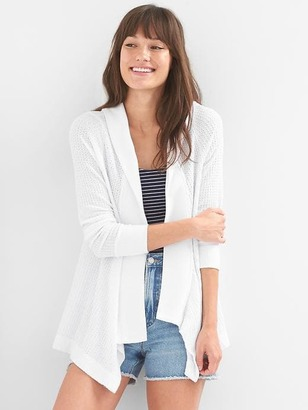 Waffle hoodie cardigan $49.95 thestylecure.com