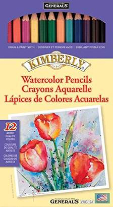 Kimberly General Pencil 60% Viscose/40% Polyester Watercolor Pencils 12 per Package