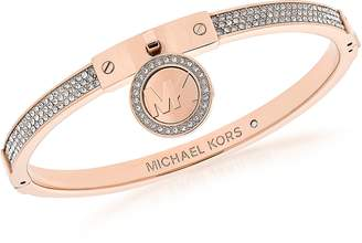 Michael Kors Heritage PVD Rose Goldtone Stainless Steel Bracelet