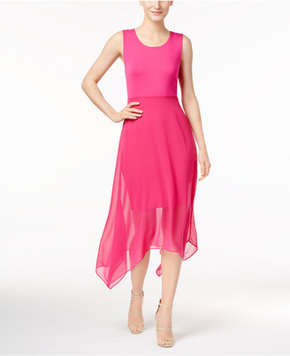 Vince Camuto Handkerchief-Hem Dress, a Macy's Exclusive Style $119 thestylecure.com