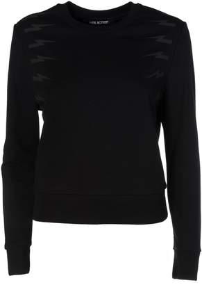 Neil Barrett Lightning Bolt Printed Sweatshirt