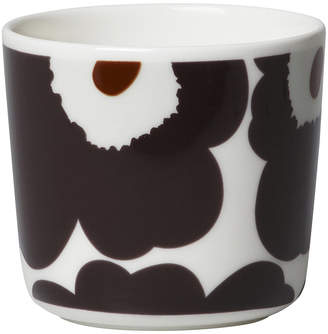 Marimekko Unikko Coffee Cup - Beige/Dark Grey/Brown