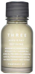 Three (スリー) - [THREE]スキャルプ&ヘア リファイニング トリートメント オイル