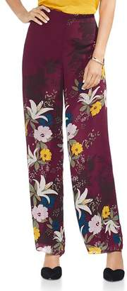 Vince Camuto Autumn Botanical Printed Pants