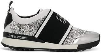 Love Moschino love glitter sneakers