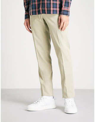 SLOWEAR Icegab slim-fit tapered stretch-cotton trousers