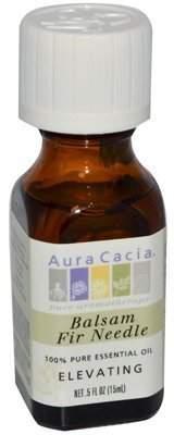 Aura Cacia Fire Needle Balsam Essential Oil, 0.5 Fluid Ounce - 1 each. by
