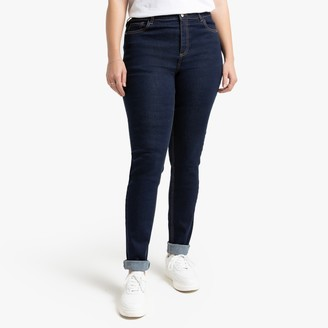 """La Redoute COLLECTIONS PLUS Slim Fit Jeans with Push-Up Effect, Length 31.5"""""""