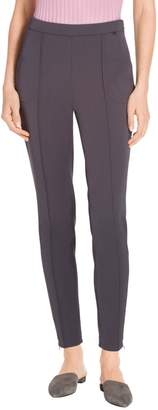 St. John Stretch Tech Twill Pull On Cropped Legging