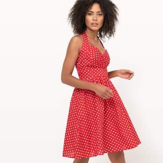 Molly Bracken 50s Style Polka Dot Print Dress