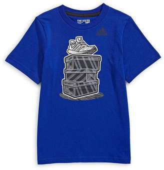 adidas Little Boy's Street Kicks Graphic Print T-Shirt