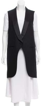 Alexander Wang Wool Shawl-Lapel Vest w/ Tags