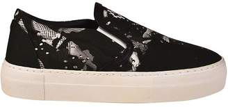 Marcelo Burlon County of Milan Camou Wing Slip-on Sneakers