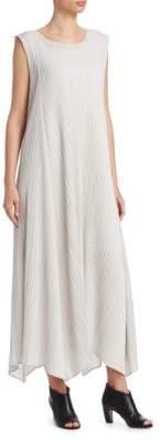 Pleats Please Issey Miyake Trapeze Midi Dress