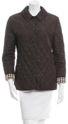 Burberry Classic Quilted Jacket $375 thestylecure.com