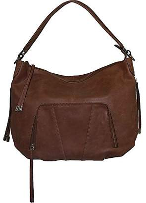 Vicenzo Leather Women's Volante Distressed Cross Body Bag