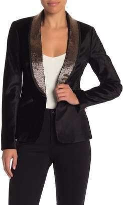 Ted Baker Embellished Velvet Suit Jacket