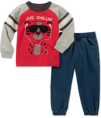 Kids Headquarters Baby Boys 2-Pc. T-Shirt & Jogger Pants Set