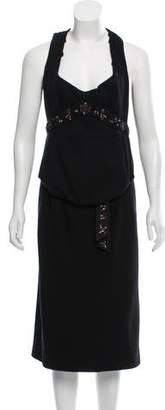 Louis Vuitton Sleeveless Midi Dress