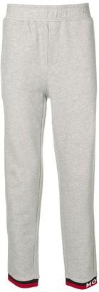 Moncler elasticated waist track pants