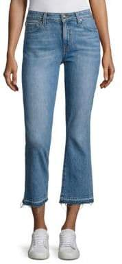 Derek Lam 10 Crosby DENIM Gia Cropped Flared Jeans