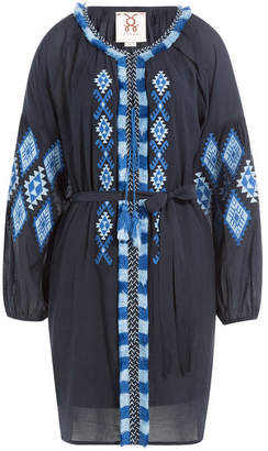 Figue Tula Embroidered Cotton Blend Tunic