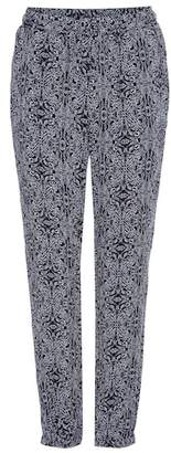 Velvet Janalee printed track pants
