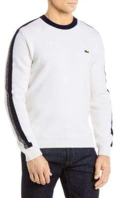 Lacoste Wool Crewneck Sweater