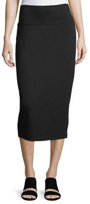 Eileen Fisher Fold-Over Knee-Length Pencil Skirt $118 thestylecure.com