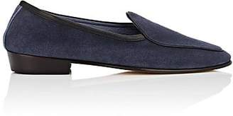Baudoin & Lange Men's Suede Loafers - Navy