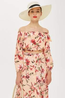 Love **Floral Bardot Top