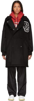 Opening Ceremony Black Wool Varsity Coat