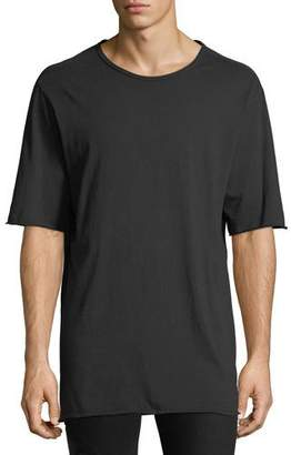 Hudson Men's Crewneck Elongated T-Shirt