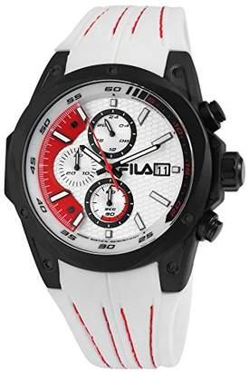 Fila Mens Analogue Quartz Watch with Silicone Strap 38-823-001