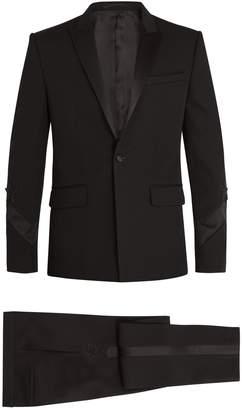 Givenchy Single-breasted satin-trimmed wool tuxedo