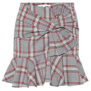 Veronica Beard Picnic plaid miniskirt