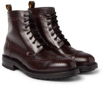 Dunhill Leather Brogue Boots