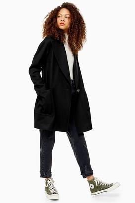 Topshop PETITE Black Coat